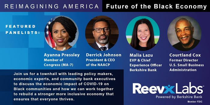 Reimagining America: the Future of the Black Economy – hosted by Berkshire Bank