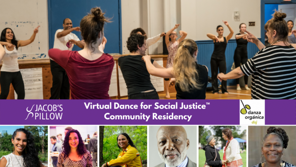 Dance for Social Justice with Mar Parilla begins today -March 18th – register by  2:00 PM