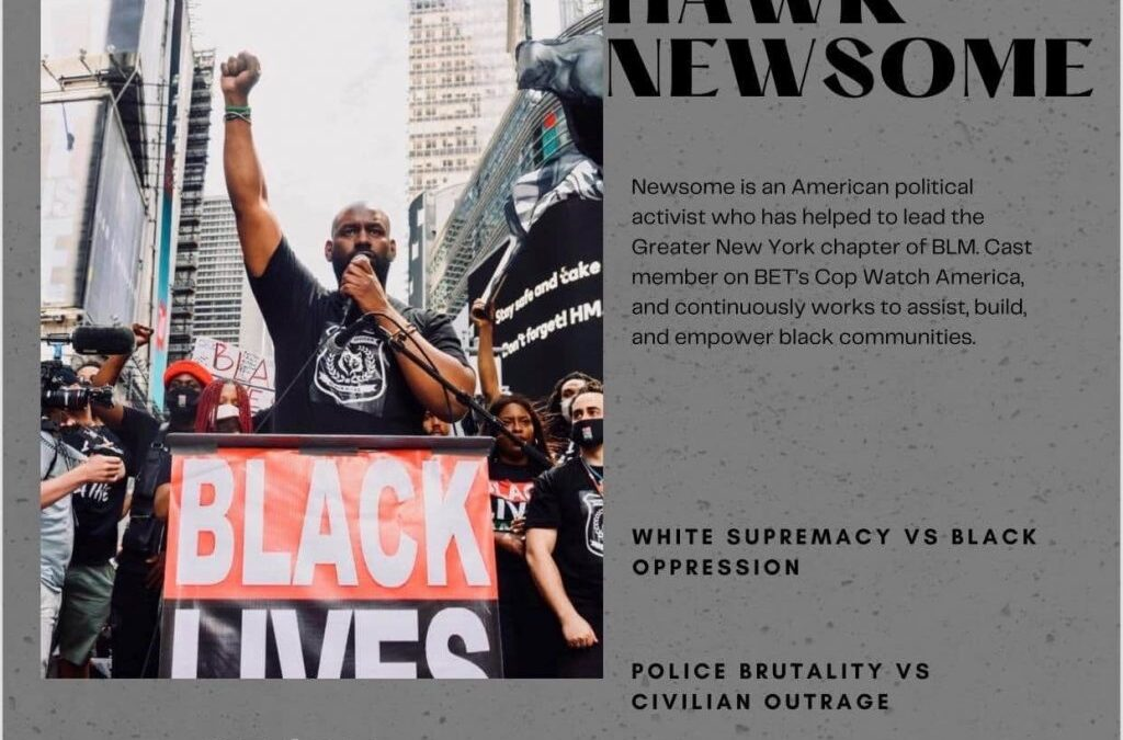 """""""We are all in this together"""" – A conversation with Black Lives Matter leader Hawk Newsome for young  people"""